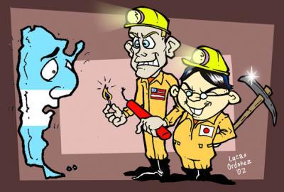 Acciones contra Minera Alumbrera