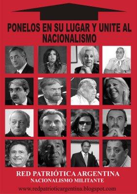 CAMPAÑA DE RED PATRIOTICA EN BS AS