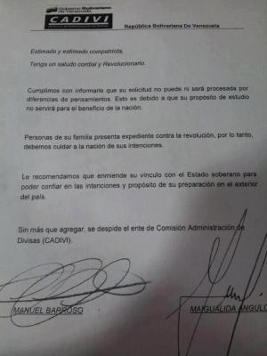 IGUAL QUE EN VENEZUELA