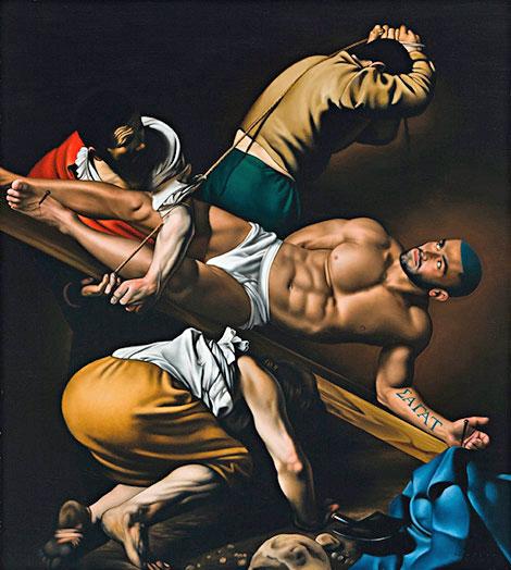 crucifixion-de-francois-sagat-por-ross-watson